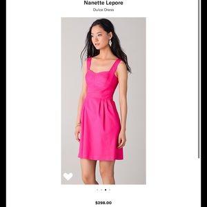 Dulce pink textured dress